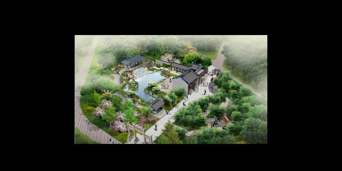 第十届武汉园林博览会佛山园参建项目
