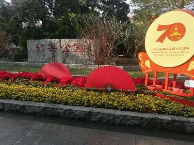 2020年大沥镇各公园春节时花摆放项目
