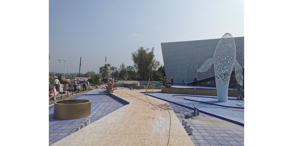 中昂·祥云府展示区园林景观工程